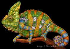 Just finished with my Veiled Chameleon. This is the 3rd in my series of chameleons. Can't get enough of these fascinating creatures! Prints are available here: https://www.etsy.com/listing/266356148 #chameleon #veiledchameleon #reptiles #lizard #pets #reptilepets #scales