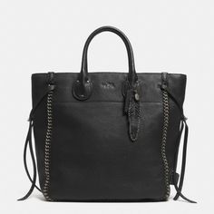 The Tatum Tall Tote In Whiplash Leather from Coach...for December 2014