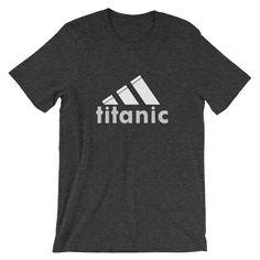Titanic, Fabric Weights, Dark Grey, Custom Design, Shirt Designs, T Shirts For Women, Mens Tops, Fashion, Fashion Styles