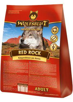 Wolfsblut Red Rock ist ein getreidefreies Hundefutter mit hohem Fleischanteil und gesundem Gemüse. Hmmm, lecker! #wolfsblut #healthfood24