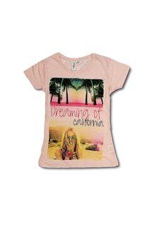 T-shirt<BR>Zachtroze