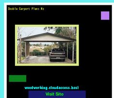 Double Carport Plans Nz 205813 - Woodworking Plans and Projects!