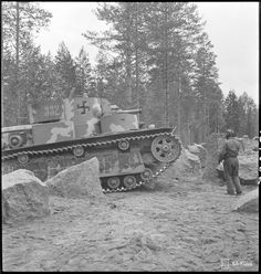 Finland - captured seven Soviet T-28 tanks during the Winter War and the Second World War