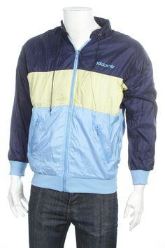 Vintage 90 adidas Trefoil logo tracksuit Top Windbreaker Jacket