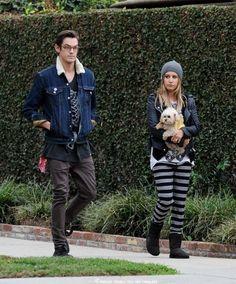 October 2014, Ashley Tisdale & Christopher French Candids. For more photos - https://www.facebook.com/AshleyTisdaleNewAndFabulous
