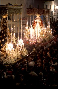 Semana Santa celebration in Antequera, Andalucia Christmas Lights, Christmas Decorations, Holiday Decor, Malaga, Holy Week In Spain, Places In Spain, Andalucia Spain, Spain And Portugal, How To Speak Spanish