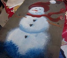 Smart Magazine | Painting on slate is an easy way to make a beautiful decoration