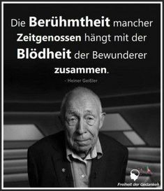 So wahr! Anders ist dieser alberne Hype um sogenannte Prominente, B-, C- und D -… So true! Different is this silly hype about so-called celebrities, B-, C- and D -… – satire & facts – Wise Men Say, Tango, True Words, Satire, Proverbs, True Stories, Cool Words, Slogan, Quotations