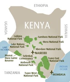 Kenya Safari Breaks, Book Safari Holidays in Kenya