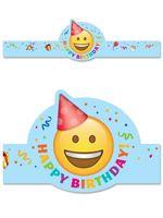 Emoji Fun Happy Birthday Crown
