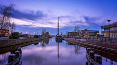 Almelo City Canal by Nuran Gelici on 500px