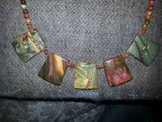 Artisan Handcrafted Cherry Creek aka Red River by AngelStarJewelry, $65.00