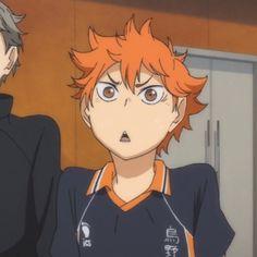 Haikyuu Funny, Haikyuu Anime, Haikyuu Characters, Anime Characters, Armin, Hinata Shouyou, Haikyuu Wallpaper, Anime Expressions, Fandom