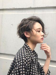 横顔美人ショート❣️|TONI&GUY所属・村田勝利のヘアカタログ|ミニモ