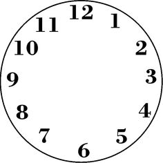 Best Photos of Analog Clock Face Template - Blank Clock Faces . Wall Clock Face, Wall Clock Kits, Diy Clock, Wall Clocks, Clock Template, Face Template, Clock Face Printable, Printable Numbers, Blank Clock Faces