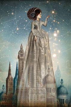 Vintage collage illustration by German digital artist Catrin Welz-Stein // surrealism / art Art Du Monde, Poster Online, Photoshop, Pop Surrealism, Modern Surrealism, Canvas Prints, Art Prints, Wassily Kandinsky, Surreal Art