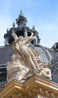 On the Roof ~ Petit Palais, Paris, France