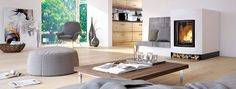 Profi Go R #Profi #Kamin #wohnen #Feuer Modern, Home Decor, Fire, Homes, House, Trendy Tree, Decoration Home, Room Decor, Interior Decorating