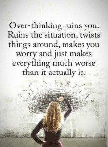 How To Make Your Brain Stop Worrying, According to Science overthinking quotes Now Quotes, Quotes Thoughts, Life Quotes Love, Daily Quotes, Quotes To Live By, Motivational Quotes, Funny Quotes, Inspirational Quotes, Deepest Love Quotes