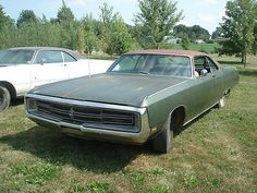 Chrysler : 300 Series 2 Door 2-1969 Chrysler 300 - 1-barn Find And 1-parts Car - http://www.usabarnfinds.com/?p=841