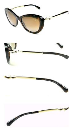 871b624291cb Amazon.com: Chanel Sunglasses 5340-H Col.714/S9 Havana/Polarized lenses  New: Clothing