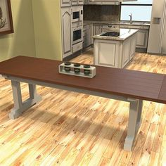 Kreg Project Plan: Farmhouse Table. Dine in style with this class farmhouse table.