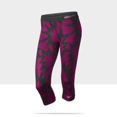 These would motivate me...Nike Pro Printed Women's Training Capris