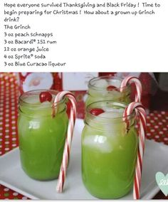 How The Grinch Stole Christmas adult drink