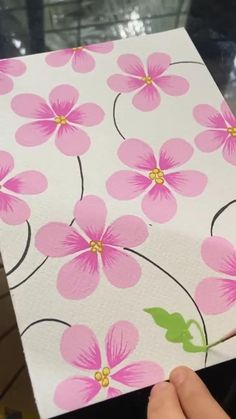 Simple Canvas Paintings, Small Canvas Art, Mini Canvas Art, Easy Canvas Art, Painted Flowers On Wall, Easy Flowers To Paint, Simple Flower Painting, Acrylic Painting Flowers, Watercolor Art Lessons