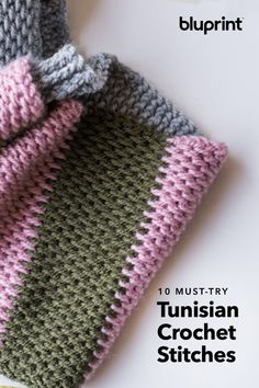 Tunisian Crochet Ah, Tunisian crochet. Part knit, part crochet and endlessly versatile. It's no wonder we're obsessed. - Ah, Tunisian crochet. Part knit, part crochet and endlessly versatile. It's no wonder we're obsessed. Tunisian Crochet Patterns, Knit Or Crochet, Double Crochet, Crochet Hooks, Free Crochet, Knitting Patterns, Tunisian Crochet Blanket, Crocheting Patterns, Scarf Patterns