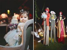 Decoração de festa infantil   Alice no País das Maravilhas