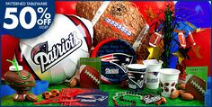 Plates, Pinata's, balloons..... OH MY!! How fun for your #UltimateTailgate #Fanatics