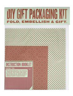 Origami Gift Packaging Kit by Elana Dweck, via Behance
