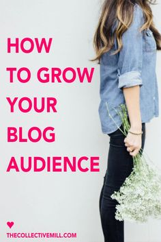 10 Easy and Effective Ways to Grow Your Blog and Build a Loyal Following. This post is perfect for you if you're a new blogger, looking for easy and actionable blogging tips, or want to grow your blog traffic. Click through for the full tutorial. | blogging tips | TheCollectiveMill.com