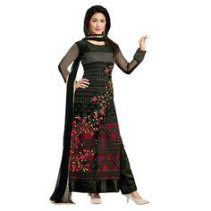 Festival Wear Georgette Black Salwar Kameez - EBSFSK202010