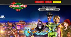 Vegas2Web online casino bonuses from Lucky Bonus USA site. 100% welcome bonus, weekly Free Spins for a year. Weekly cashback. Promotions. USA friendly casino