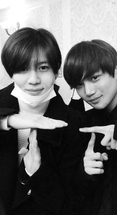 Taemin and Kai SHINee EXO, bff forever!