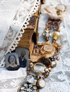 Junk jewelry.