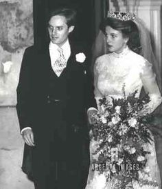 Wedding of Arthur Wellesley, Marquess of Douro, eldest son of the Duke and Duchess of Wellington, and Princess Antonia of Prussia
