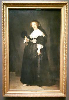 Rembrandt van Rijn (1606-1669), Portret van Oopjen Coppit, 1634. Olieverf op doek. Gezamenlijke aankoop van de Staat der Nederlanden en de Republiek Frankrijk, collectie Rijksmuseum/collectie Musée du Louvre, 2016