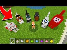 How to Spawn NEW WOLVES in Minecraft TUTORIAL! (Pocket Edition, Xbox, PC) - YouTube Minecraft Skins Creeper, Minecraft Dogs, Minecraft Seed, Minecraft Plans, Cool Minecraft Houses, Minecraft Tutorial, Minecraft Blueprints, Minecraft Creations, Lego Minecraft