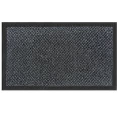 Momentum Mats Teton Charcoal Grey Entry Mat (Charcoal .50 in. H x 72 in. W x 192 in. L), Black (Plastic)