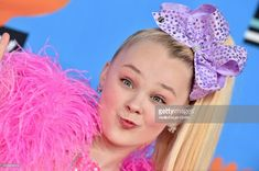 Dancer JoJo Siwa attends Nickelodeon's 2018 Kids' Choice Awards at The Forum on March 24, 2018 in Inglewood, California.