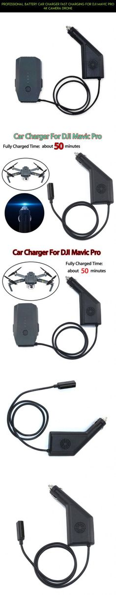 Professional Battery Car Charger Fast Charging for DJI Mavic PRO 4K Camera Drone #pro #technology #racing #kit #shopping #mavic #fpv #parts #4 #plans #battery #products #tech #camera #gadgets #drone