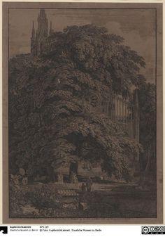 Gotische Kirche hinter Bäumen - Das Erbe Schinkels - Der Onlinekatalog - 479-119