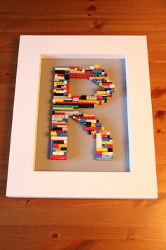 A Lego Letter    Created by My Life of Travels and Adventures
