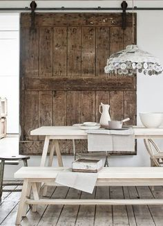 10 Incredible Interiors that Use Barn Doors