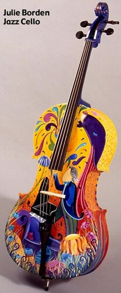 Very Colourful Cello --- https://www.pinterest.com/lardyfatboy/