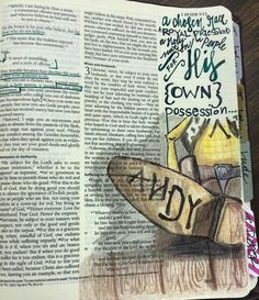 We are a people for His own possession. #1peter @jenwilkin #bible #biblejournaling #biblejournalingcommunity #illustratedfaith #disney #toystory #woody #andy #belong #soulscripts http://ift.tt/1KAavV3