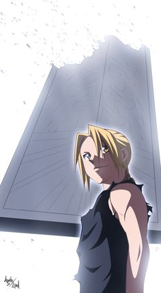FMA: Edward by ~Agito-Lind on deviantART Edward Elric beats the Truth  Fullmetal Alchemist Brptherhood